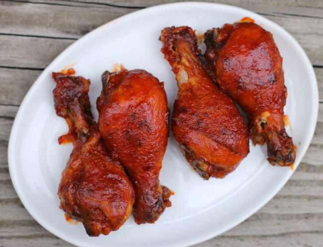 Pan Seared Oven Roasted Bbq Chicken Drumsticks Words Of Deliciousness