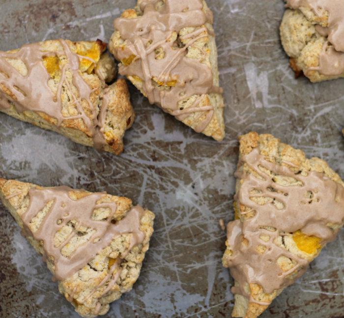 Cinnamon orange scones