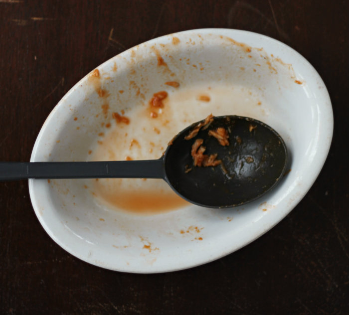Pulled Pork empty bowl