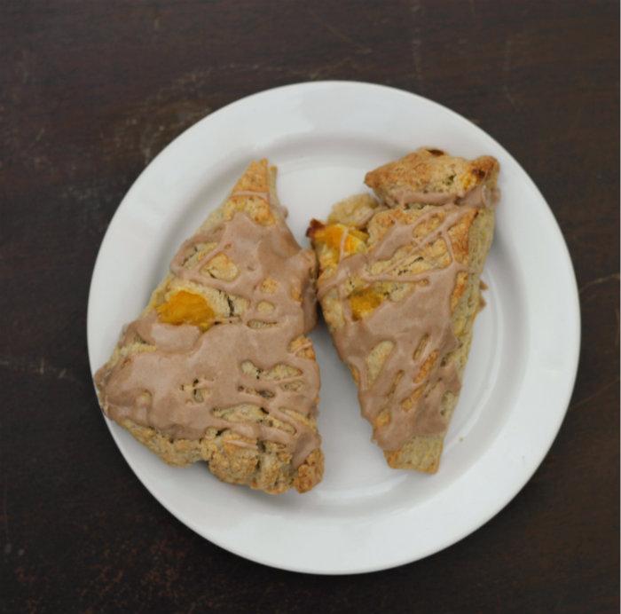 orange cinnamon scones