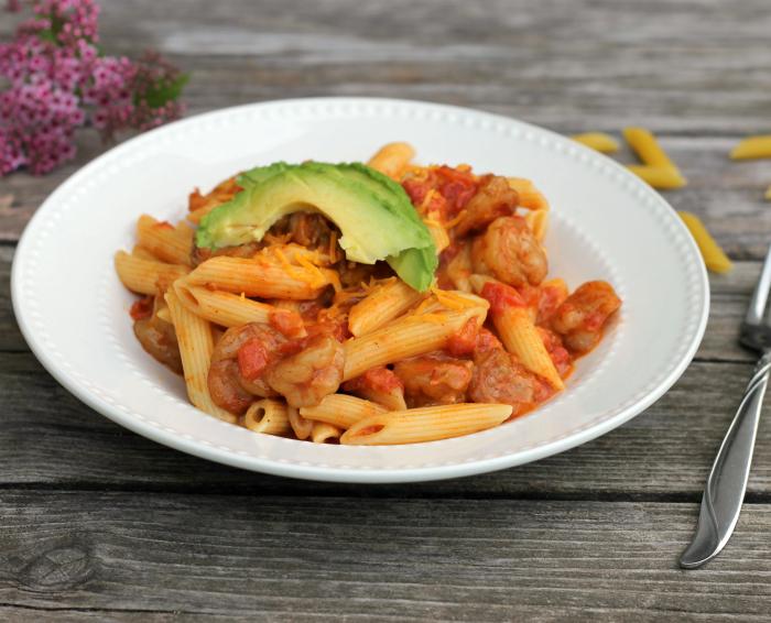 Taco Shrimp Pasta
