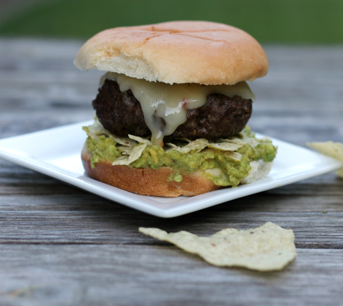 Guacamole burger