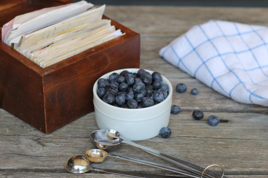 Blueberry Stuffed Buns