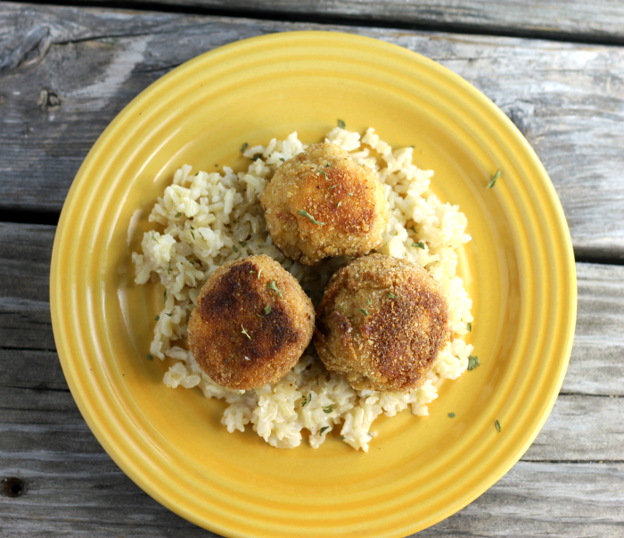 Chicken Kiev Meatballs