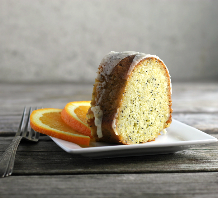 Orange Poppy Seed Bundt Cake