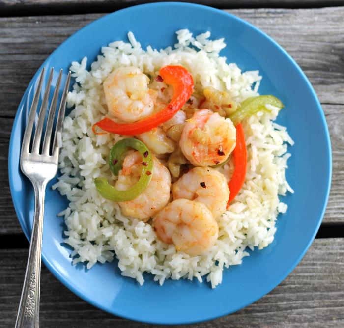 Shrimp and Garlic Rice