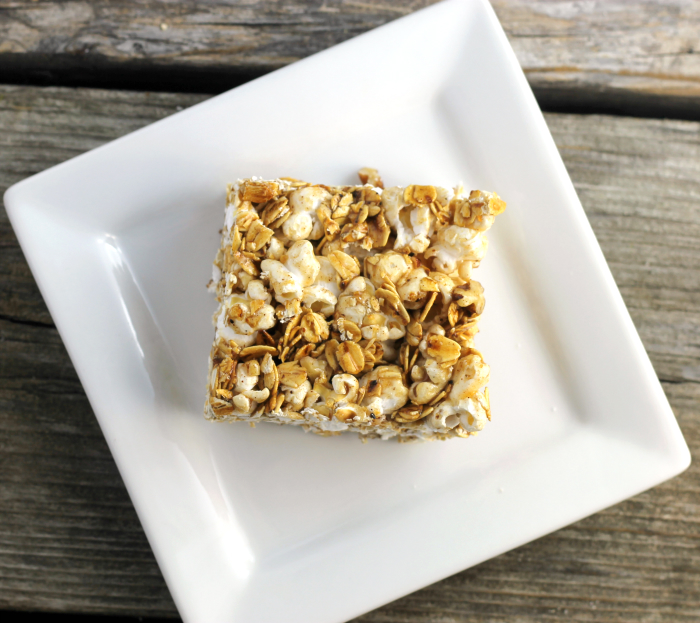 Popcorn Oat Bars