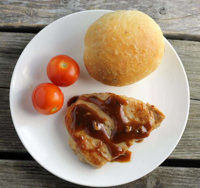 Delicious Pork Loin Chops & Honey Dijon Mustard Sauce