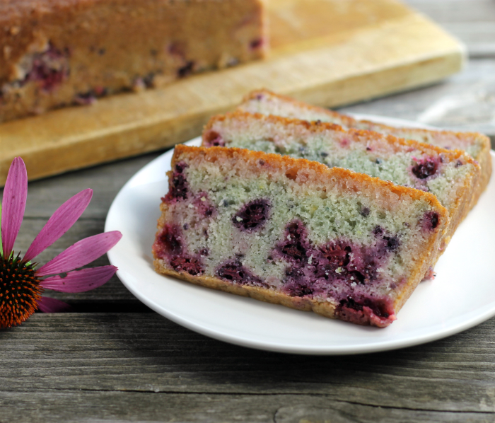 Blackberry Lime Bread