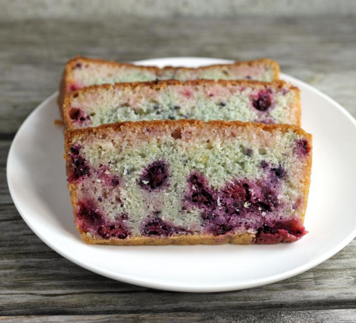 Blackberry Lime Bread