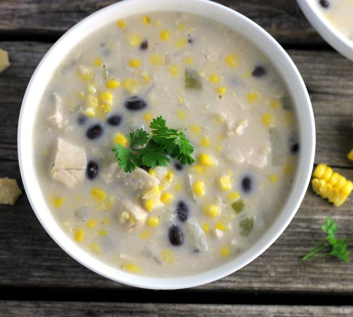 Chicken Corn Black Bean Chowder