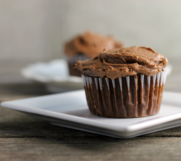 Cream Cheese Filled Chocolate Cupcakes
