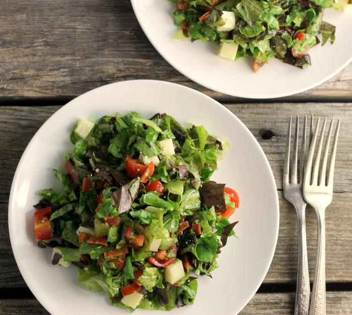Easy Italian Chopped Salad