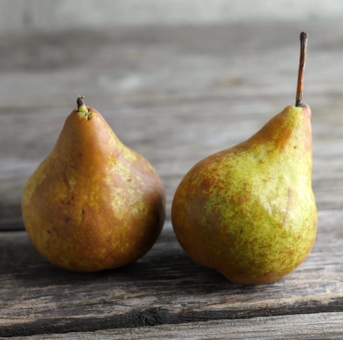 Crumble Topped Baked Pears