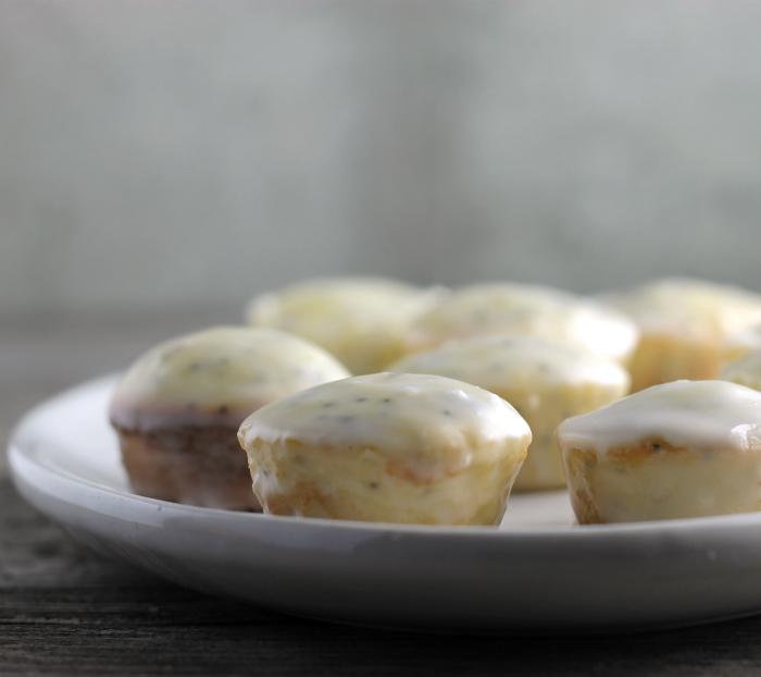 Lemon Poppy Seed Cake Bites
