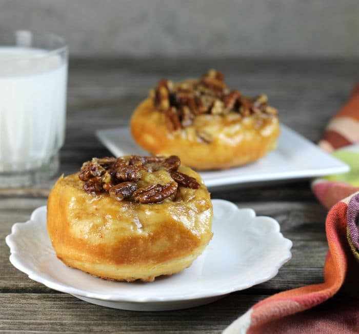 Caramel pecanrolls, you are going to love these sticky rolls with all of the caramel and pecans.