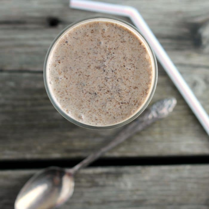 Chocolate Cake Shake is a rich, decadent, over the top chocolate shake with chocolate cake mixed in with the ice cream.