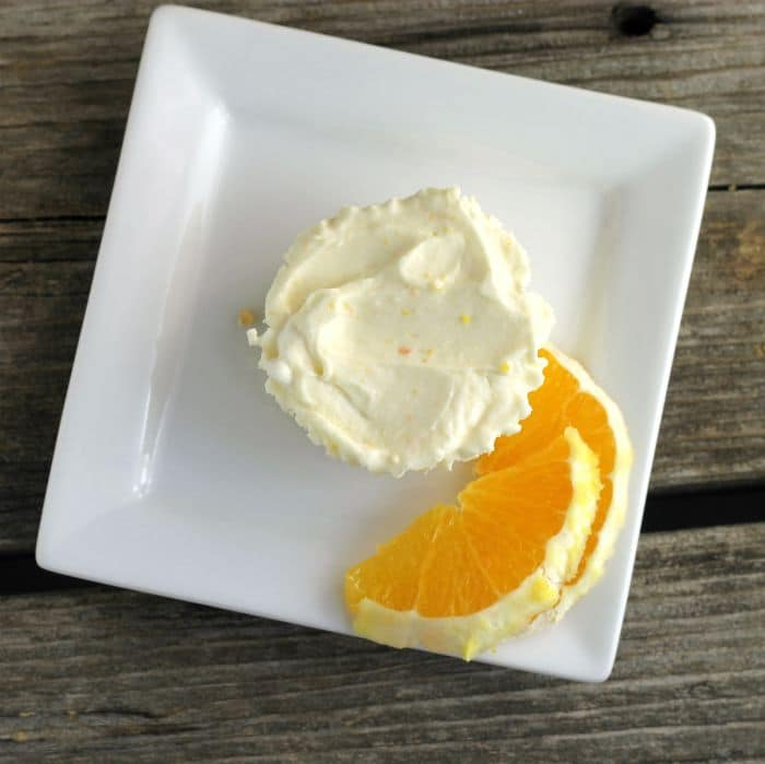 No Bake Orange Cheesecake