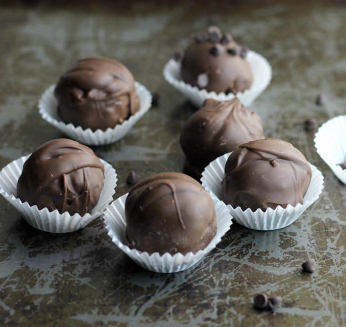 Chocolate Brownie Truffles