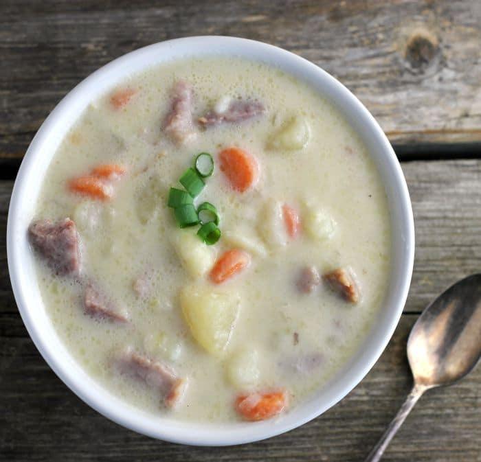 Ham Bone Potato Soup