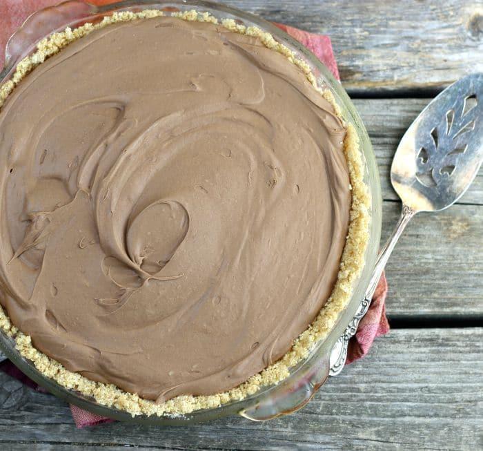 Frozen Chocolate Cream Cheese Pie