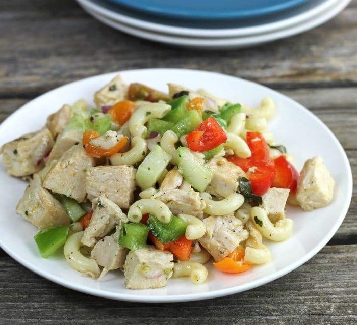 Cold Chicken Pasta Salad