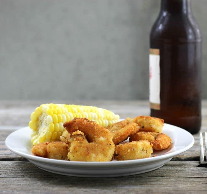Crispy Fried Parmesan Shrimp