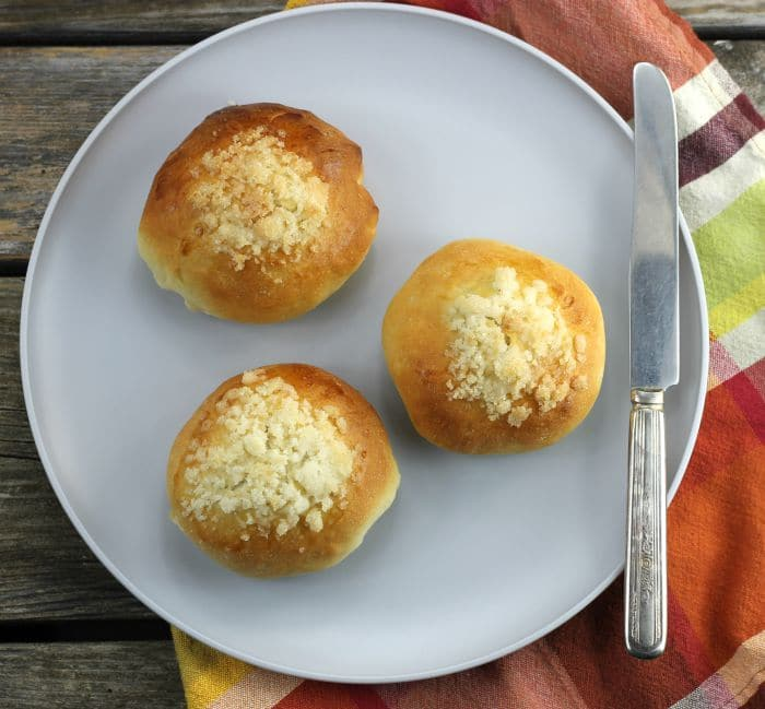 Poppy Seed Filled Sweet Buns