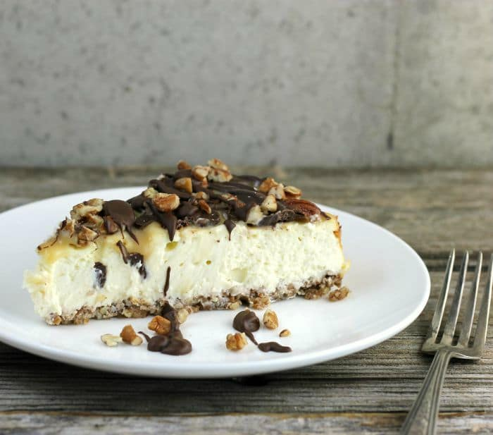 Low CarbTurtle Cheesecake