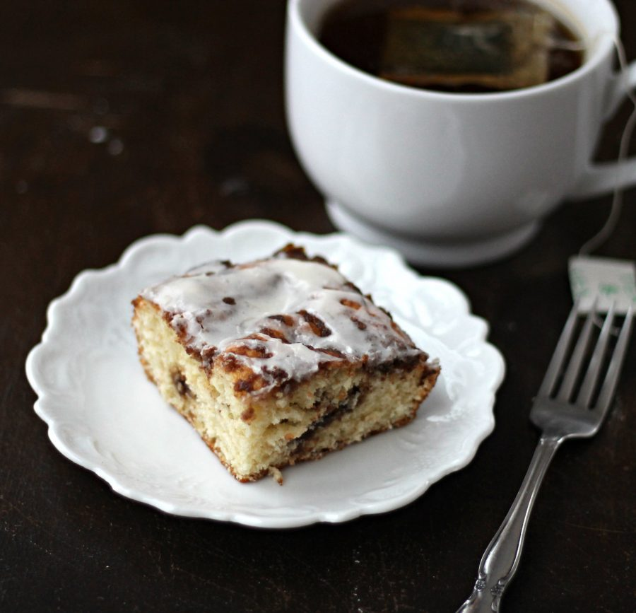 Spicy Topping Coffee Cake