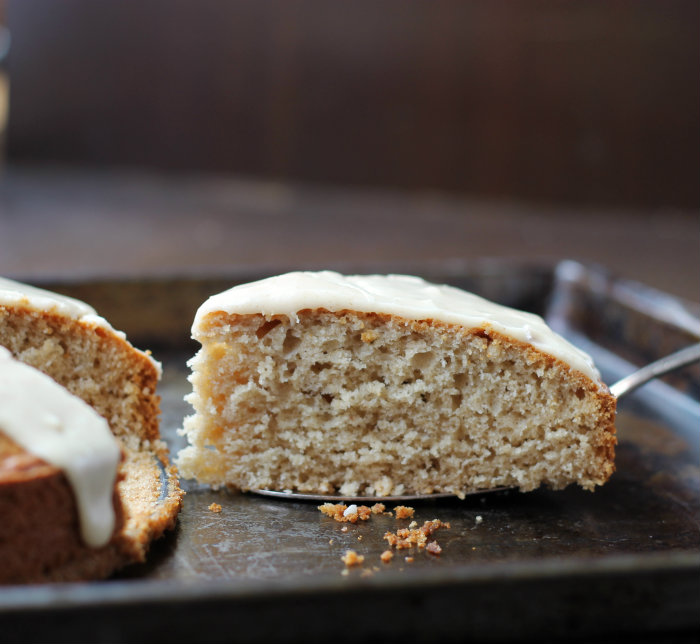 Honey spiced coffee cake