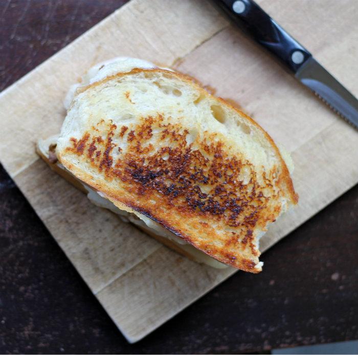 Grilled Cheese Breakfast Sandwich