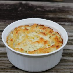 I have to admit that I did enjoy this macaroni and cheese with the mozzarella and the Italian seasoning. This recipe may make me into a macaroni and cheese lover like the rest of the family.
