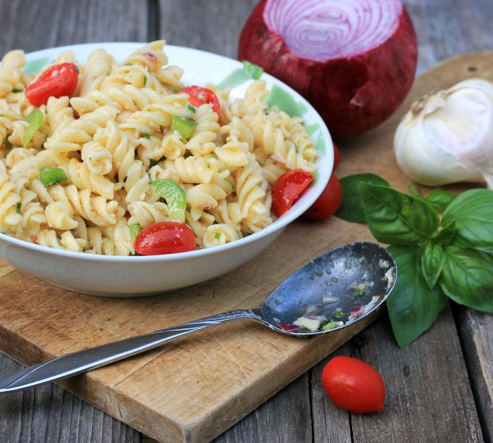 Cold Parmesan Pasta Salad