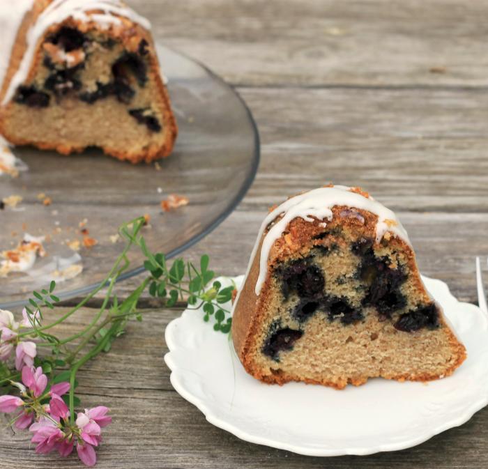 Blueberry Breakfast Bundt Cake