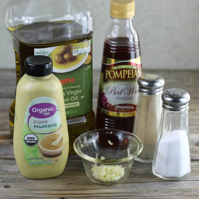 Ingredients for the dressing