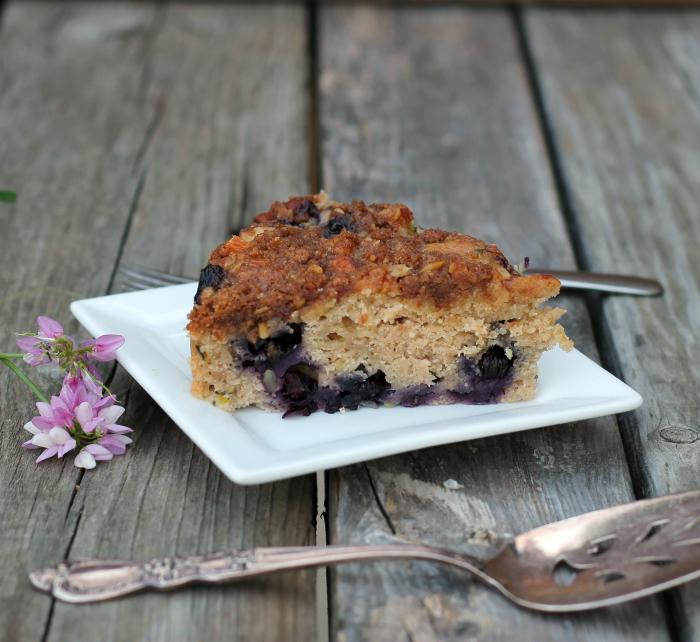 blueberry zucchini coffeecake