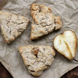 Spiced Pear Scones