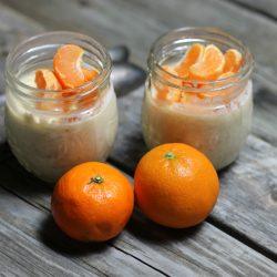 Orange overnight oatmeal