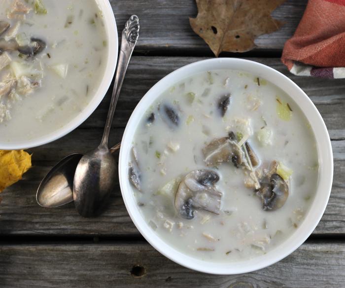 Cream of Chicken Mushroom Soup