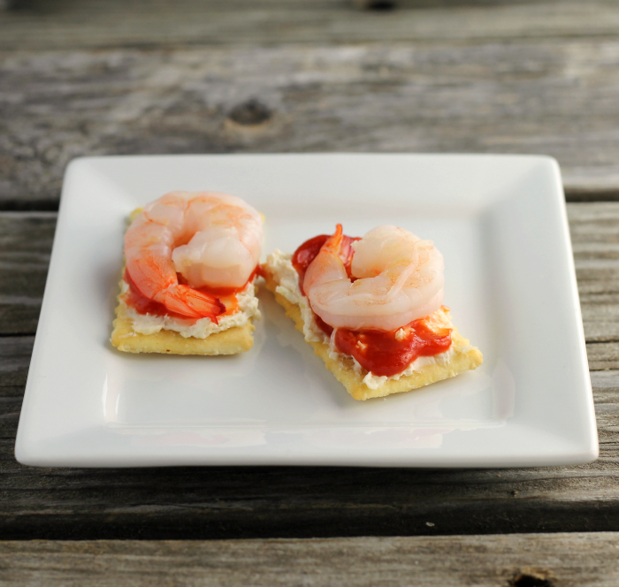 shrimp cream cheese crackers