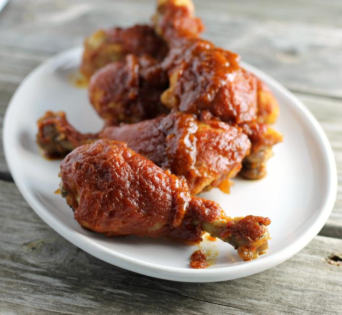 Slow-Baked BBQ Chicken Drumsticks