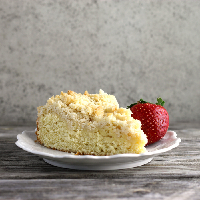 Lemon Ginger Coffee Cake