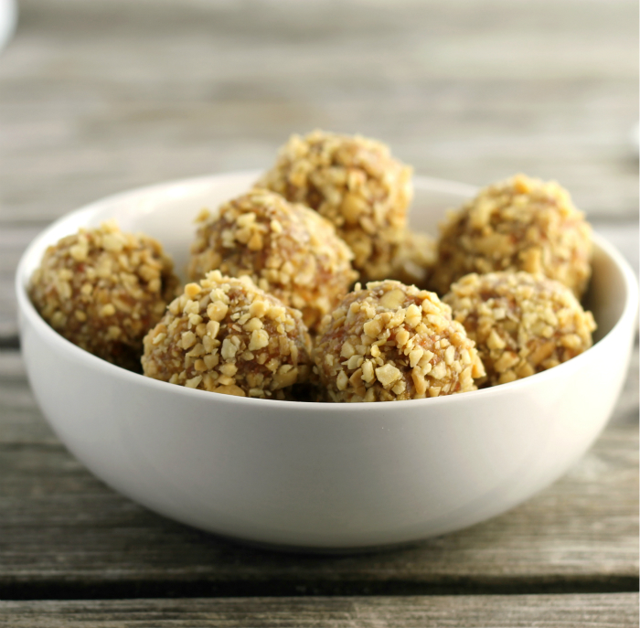 Carrot Peanut Butter Energy Balls