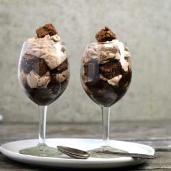 Brownie Parfait