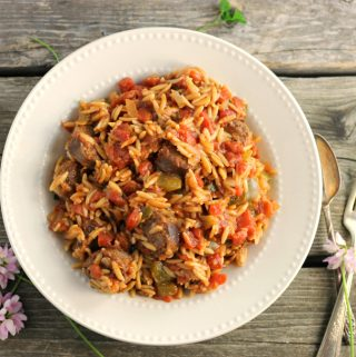 Italian Sausage and Orzo