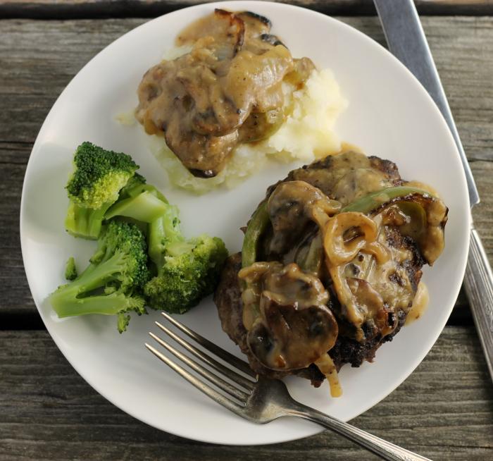 Savory Hamburger Steak