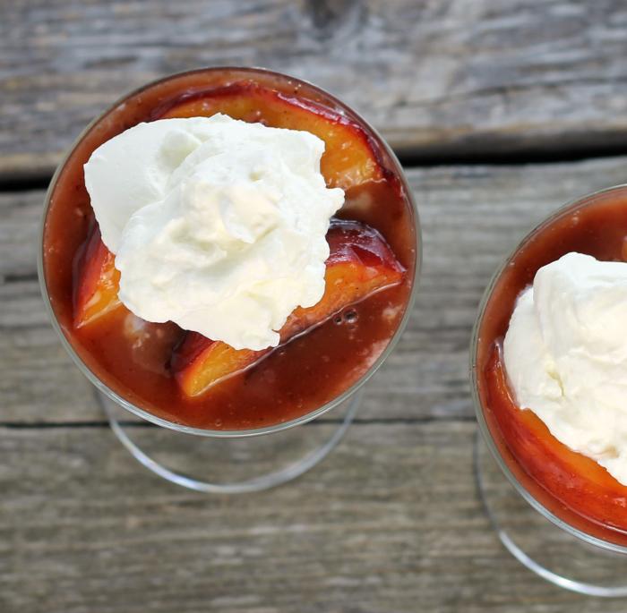 Peach Cream Cheese Dessert