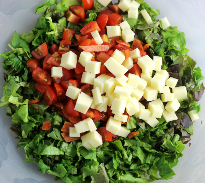 Easy Italian Chopped Salad