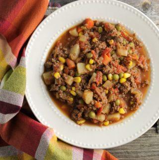 Easy Hamburger Stew